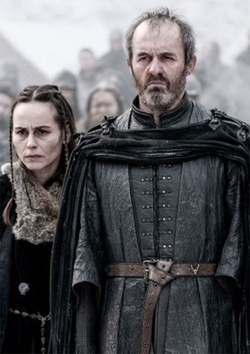 GoT-Mother's Mercy!? /Parents watching as their daughter burns!!!!!..... Stannis and Selyse Baratheon