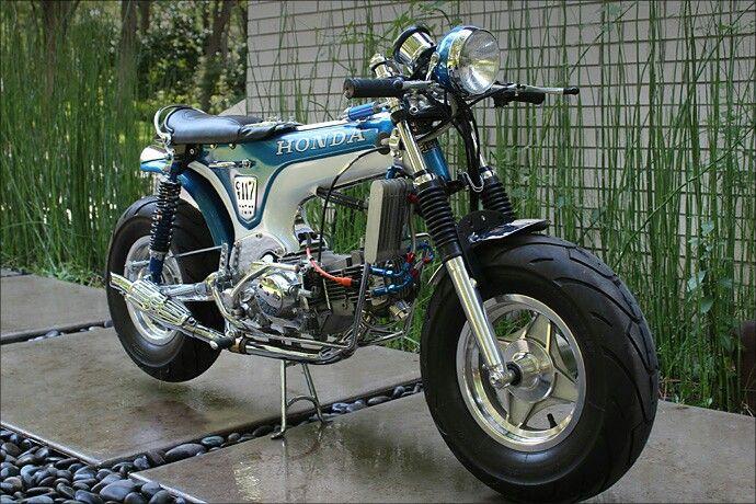Honda CT70 1977 Cudtomizada