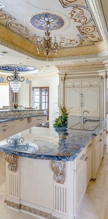 WOW! Surely not your grandmothers kitchen.