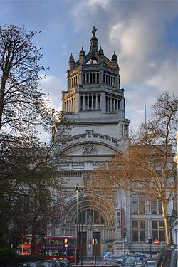 Victoria and Albert Museum ~ was founded in 1852 and is the world's largest museum of decorative arts and design, housing a permanent collection of 4.5 million objects.