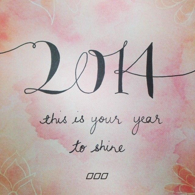 We can't wait for 2014!!!! Follow us on Instagram @Lorna Riojas Jane xx