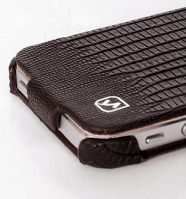 HOCO Lizard Genuine Leather Flip Cover Case For Apple iPhone 5  $34.99 at zenwer.com