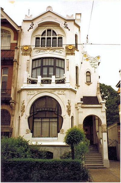 1000 ideas about art nouveau architecture on pinterest architecture doors and lloyd wright - Deco huizen ...