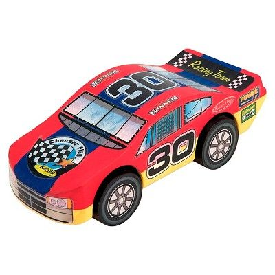 melissa doug decorate your own wooden race car craft kit