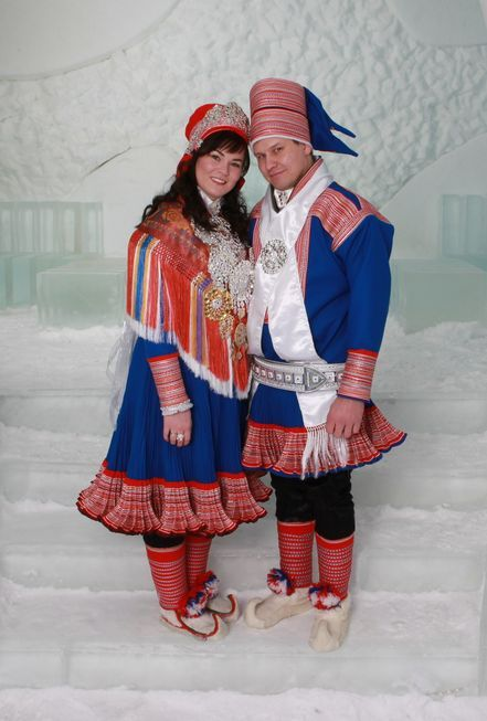 A sami wedding in Kautokeino, Norway Photo by Bente Hætta, published on altaposten.no (the lokal newspaper)