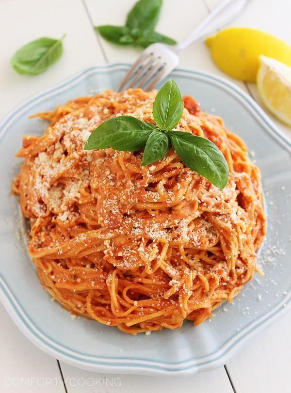 Cremige Tomaten-Sauce