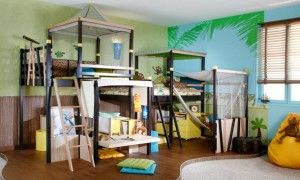 awesome Camping Themed Kids room ideas