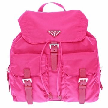 things that make me smile.   Pink Prada Backpack