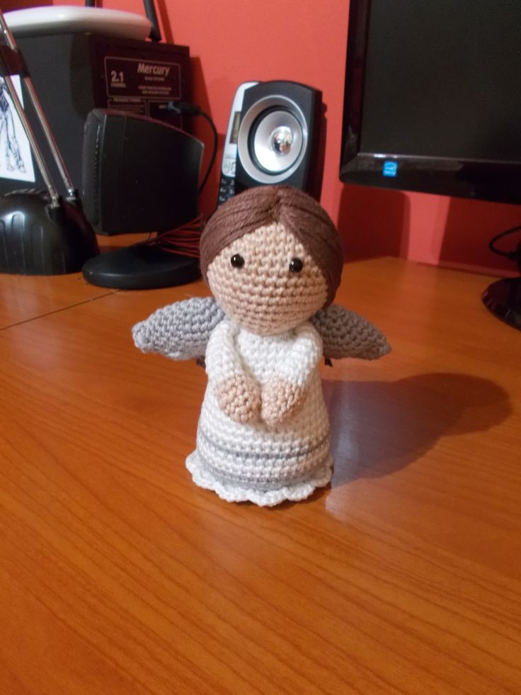 Angyal /Angel https://amigurumi.today/lovely-angel-crochet-pattern/
