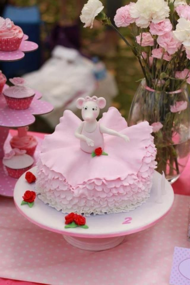 Cake Ideas For 2nd Birthday Girl : My baby girls 2nd birthday cake Sweetcakecrumbs. My ...