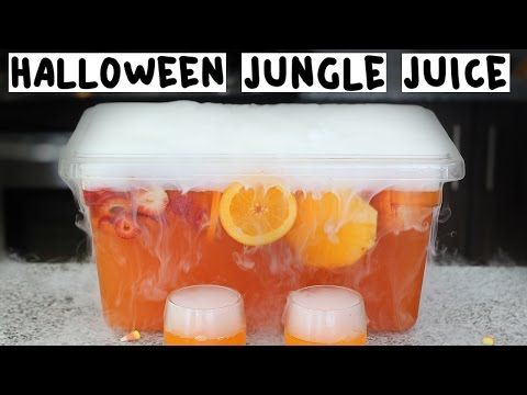 The Ultimate Halloween Jungle Juice - Tipsy Bartender - YouTube