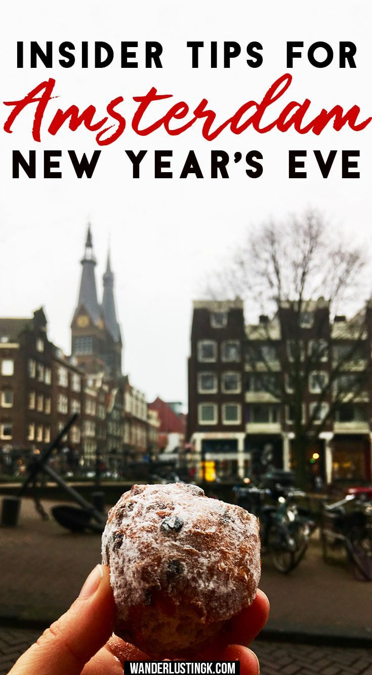 Insider tips for celebrating New Year's Eve in #Amsterdam with the best places to watch fireworks on NYE in Amsterdam & the best parties. #NewYearsEve #NYE