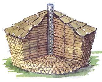 146 stacking firewood 3 shaker round