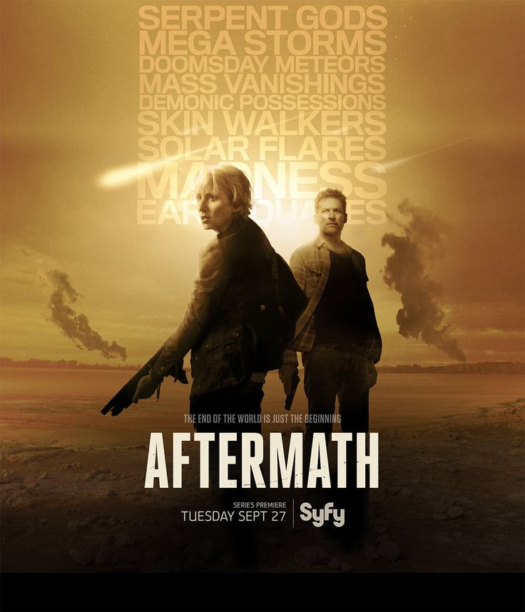 Aftermath Syfy Series Poster