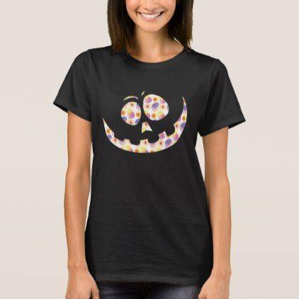 Goofy Pumpkin Face T-Shirt - party gifts gift ideas diy customize