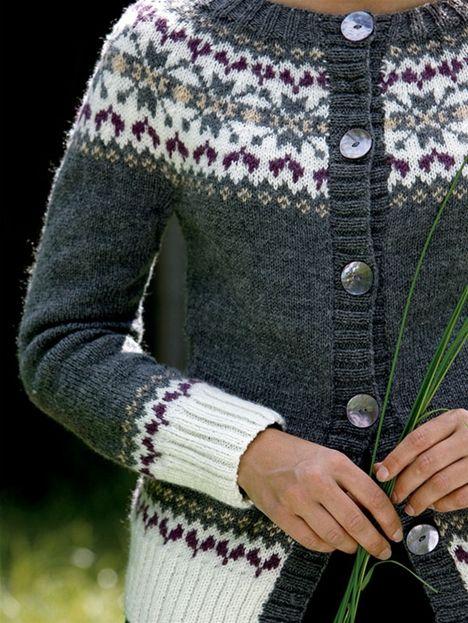 Strik selv: Trøje med mønsteret bærestykke