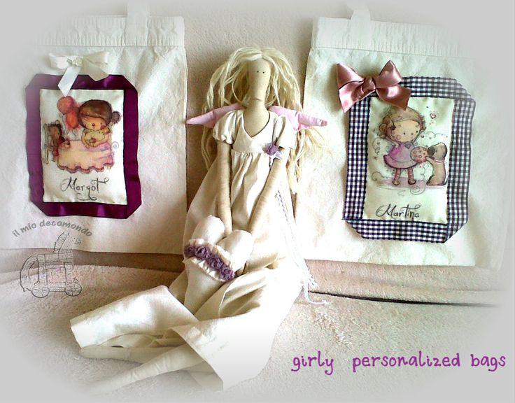 girly personalized bags