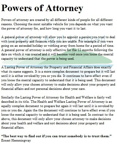 15 Best Power Of Attorney Images On Pinterest Power Of Attorney