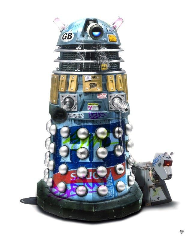 Brian the Dalek by JJ Adams