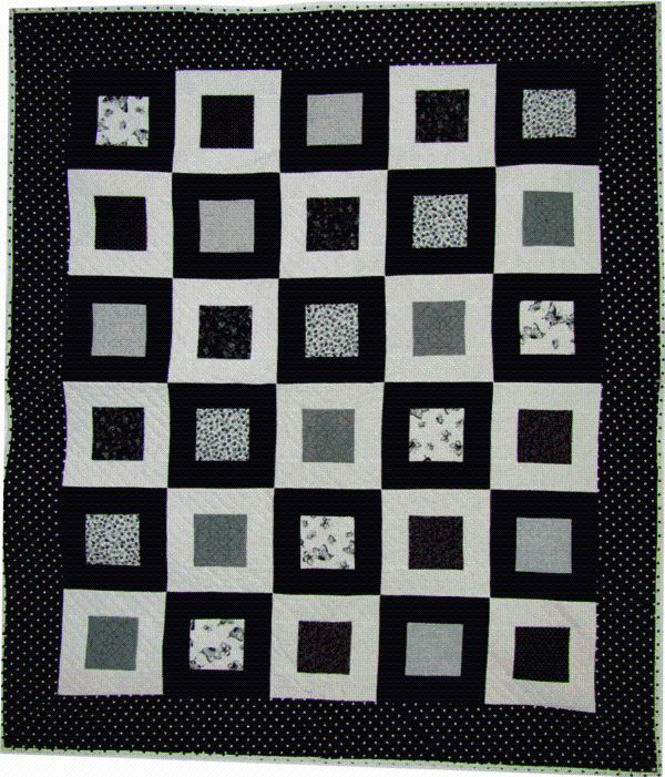 Black And White Quilts Images