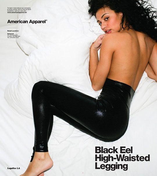 A Look Back at American Apparel's 50 Raciest Ads   MASHKULTURE