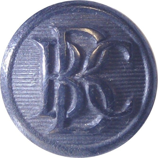 British Broadcasting Corporation Yacht Club 15.5mm – Black Horn Yacht or Boat Club jacket button