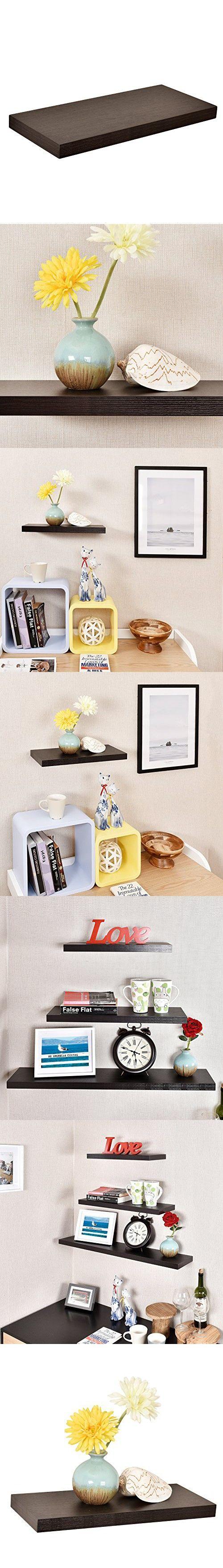 317 best floating shelves images on pinterest floating shelves welland simons floating wall shelf 18 inch espresso amipublicfo Choice Image