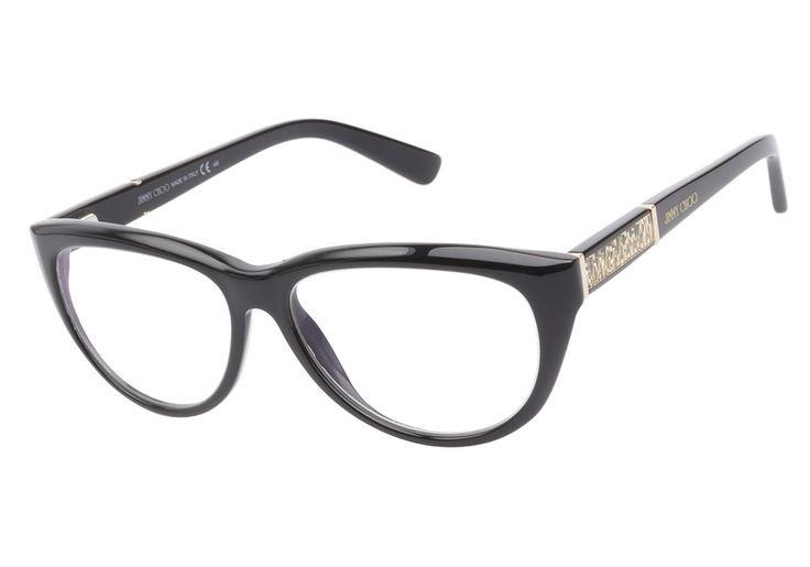 Achetez vos montures Jimmy Choo 56 807 Black en ligne et bénéficiez des prix les plus bas sur les lunettes de marque Jimmy Choo et de notre service clientèle exceptionnel de @ClearlyContacts