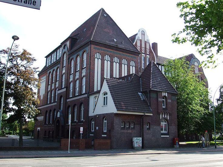 Reform-Real-Gymnasium Geestemünde, Raabe-Schule in Bremerhaven, Friedrich-Ebert-Straße 10.