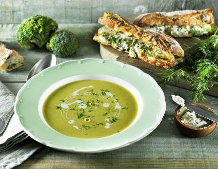 Brocollisoep met kruidenroomkaas uit de SoupMaker | Philips