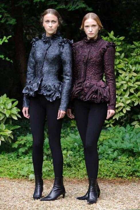 Franck Sorbier haute couture Fall 2013: Renaissance beauty
