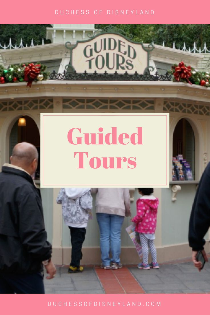 Guided Tours, Disneyland