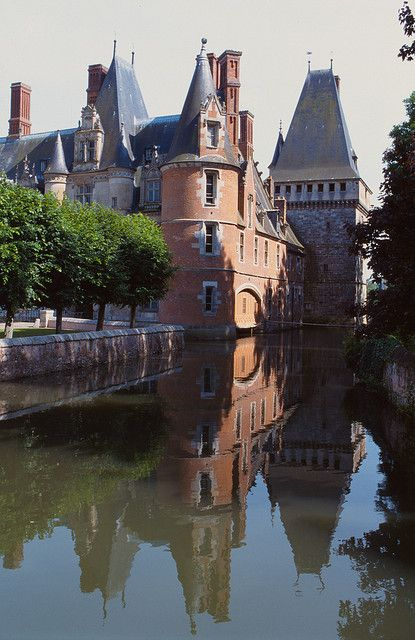 Château de Maintenon ~ situated in the commune of Maintenon.The castle construction began in the 12th and completed in the 18th century.