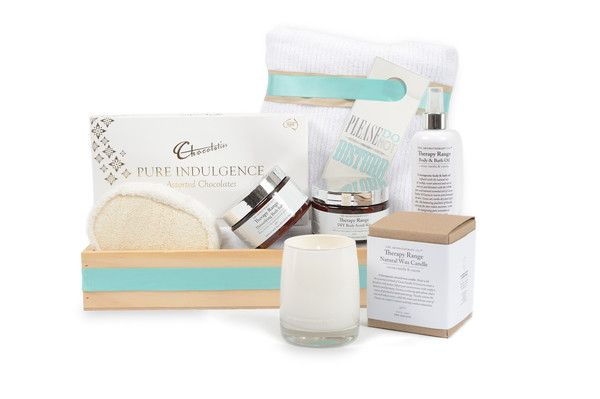 IT'S ALL ABOUT HER   Spoil her with this indulgent gift box designed to harmonize her body and senses. It will be all about her once she steps into her luxurious at home spa. Gift hamper delivery, Melbourne.