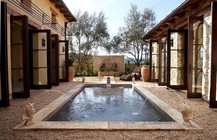 tuscan limestone fountains spaces mediterranean with stone walls traditional outdoor fountains and ponds