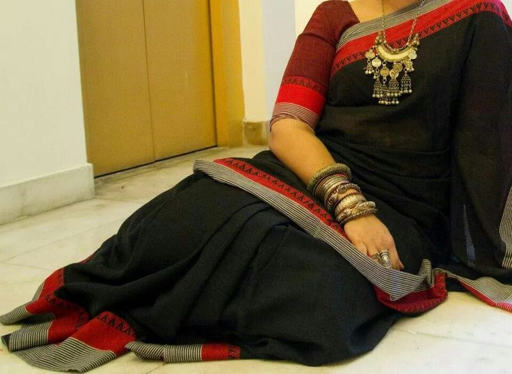Bengal handloom cotton saree from Byloom