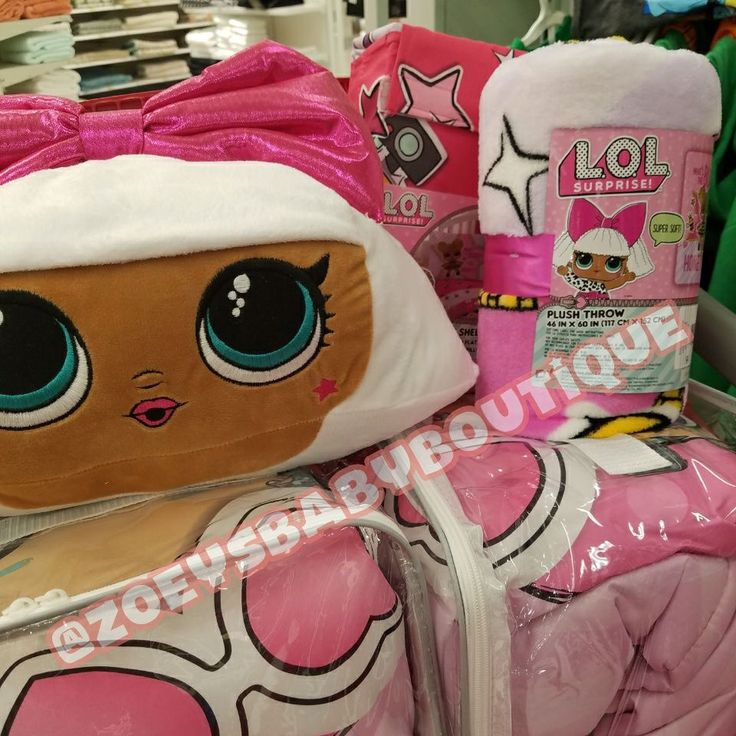 LOL Twin Bedding Comforters! All LOL Surprise Dolls