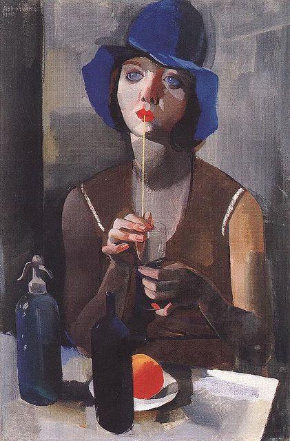 Laura No.1 1929 by Vilmos Aba-Novak (Hungarian 1894-1941)