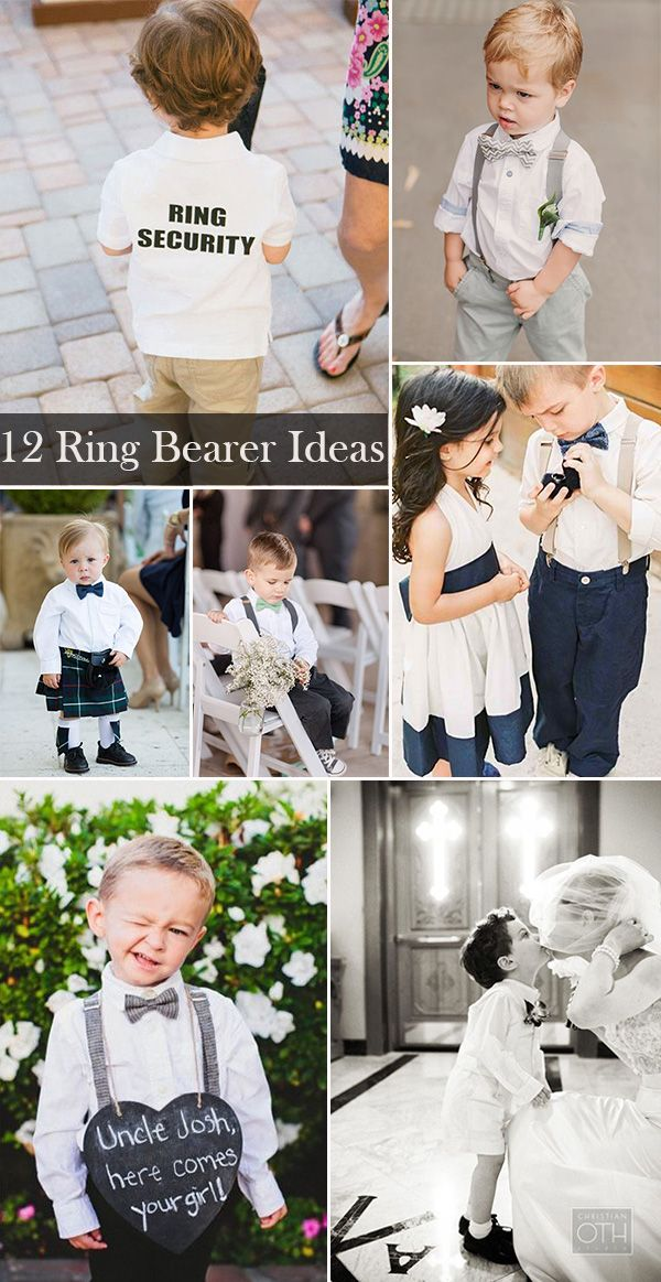 17 Best Ideas About Wedding Ring Bearers On Pinterest
