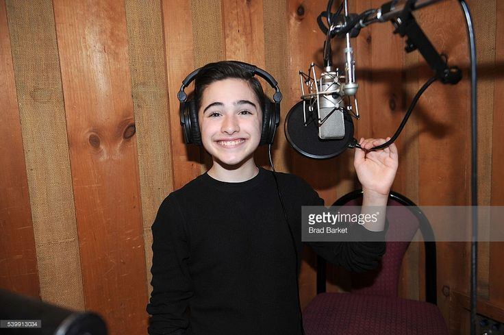Actor Joshua Colley atteds 'You're A Good Man, Charlie Brown' Cast Recording at Avatar Studios on June 13, 2016 in New York City.