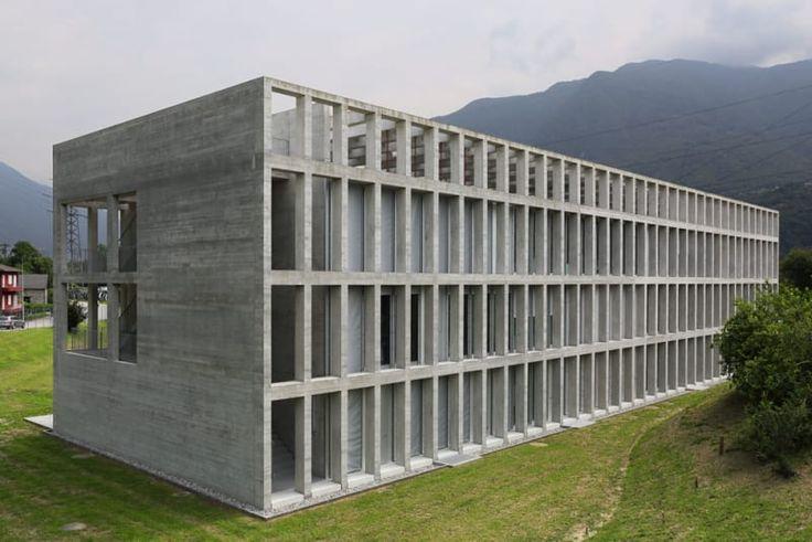 Lukas Meyer Ira Piattini Architetti, Francesco Fallavollita Architetto, Paolo Rosselli · Nuova sede amministrativa AET Monte Carasso