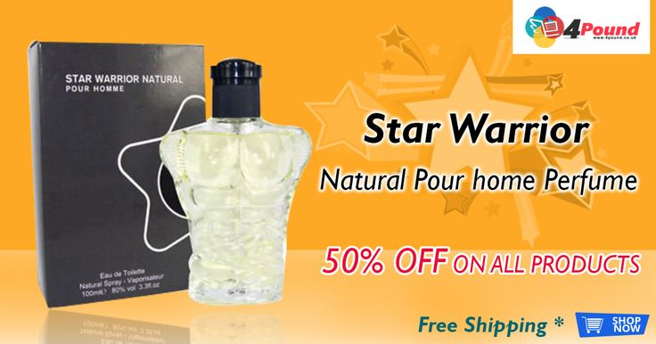 Star Warrior Natural Pour Home #Perfume (Pack Of 2) for £3.97.  Grab it now : http://www.4pound.co.uk/star-warrior-natural-pour-homme
