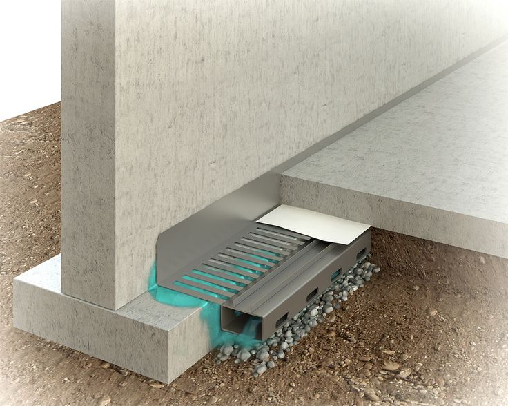 Basement Waterproofing Methods The Water Grabber System Collects Water From  Below The Floor And .