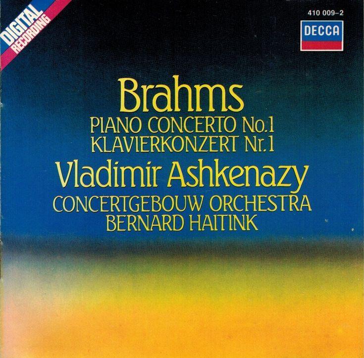 Brahms: Piano concerto No. 1 - Vladimir Ashkenazy