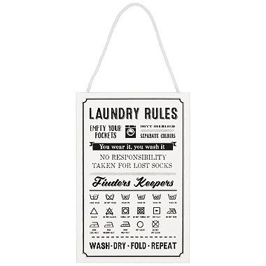 Laundry Rules - from Lakeland