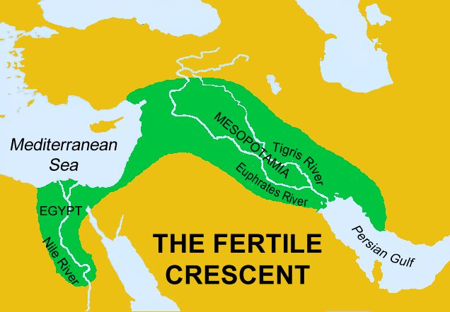 Week 1 Geo Lesson plan with great map & audio  The Fertile Crescent