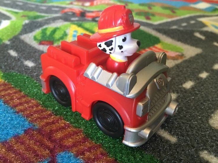 Paw Patrol Adventure Bay Rug Marshall Toy