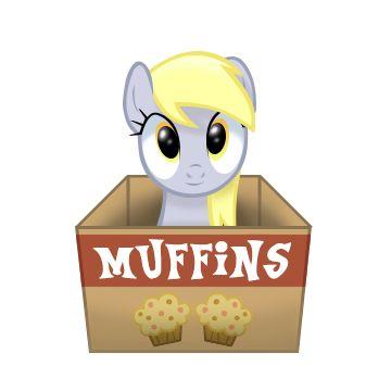 Derpy in a box by Sedrice.deviantart.com on @DeviantArt