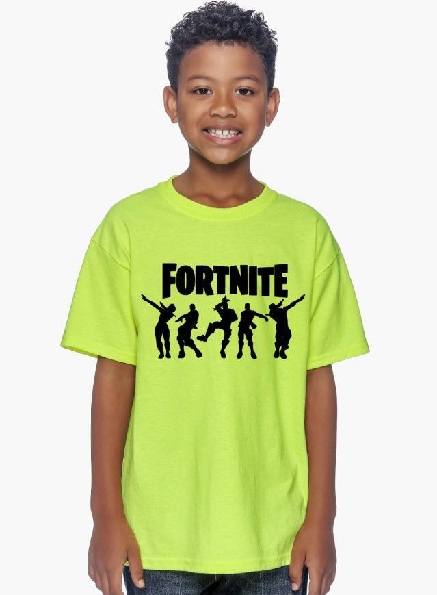 55a41337ed7a Fortnite Logo KIDS T-Shirt  BattleRoyale Video Game  gamer YOUTH Tee ...