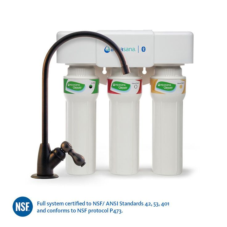 3-Stage Max Flow Under Counter Water Filtration System with Faucet in Oil Rubbed Bronze